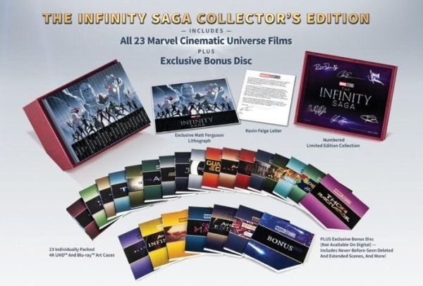 Marvel Studios 'The Infinity Saga' Now Available For Pre-Order 2