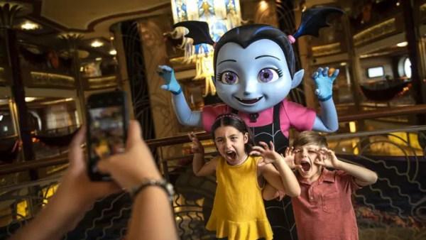 Meet Vampirina and Fancy Nancy On A Disney Cruise! 1