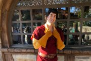 Gaston's New Costume in Disney Parks