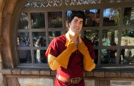 Gaston's New Costume in Disney Parks