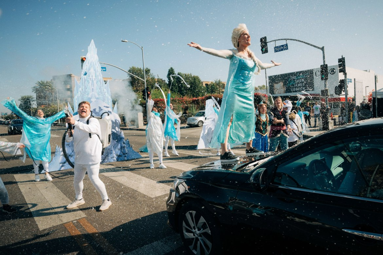 Cast of 'Frozen II' Performs 'Frozen: Crosswalk the Musical' with James Corden