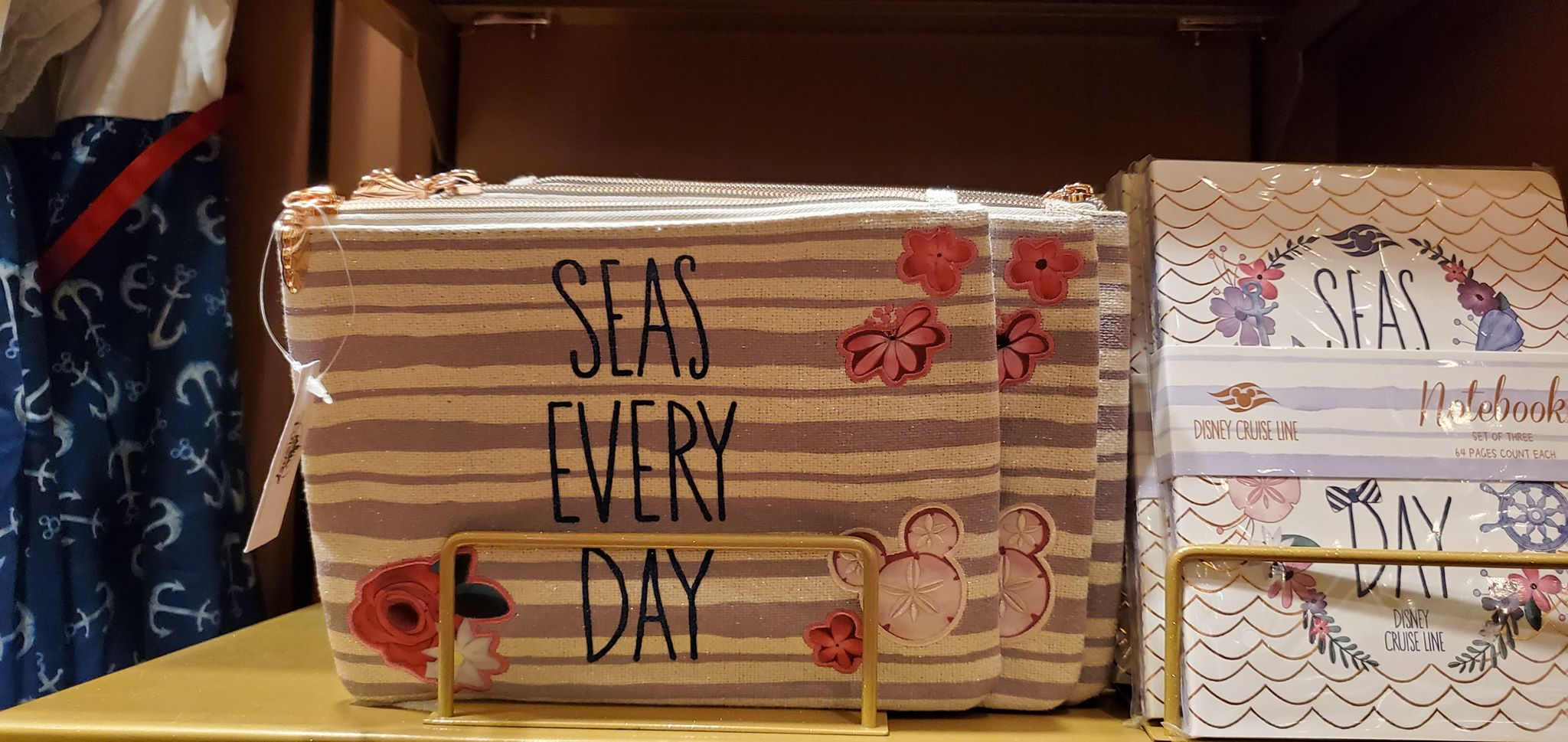 Seas Every Day With The New Floral DCL Merchandise Collection 11