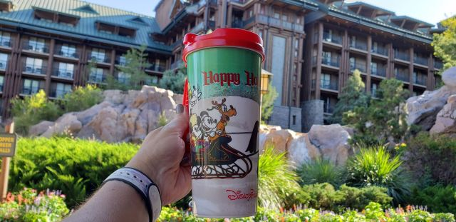 New Disney Resort Holiday Mug Lets You Refill With Festive Cheer 1
