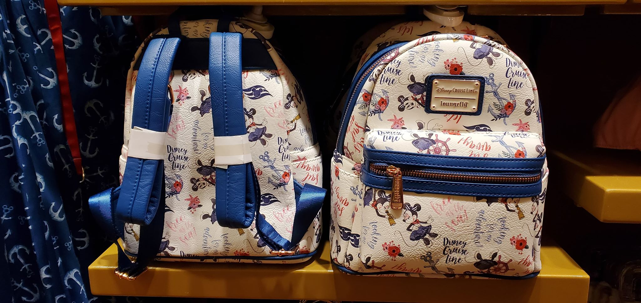 Seas Every Day With The New Floral DCL Merchandise Collection 3