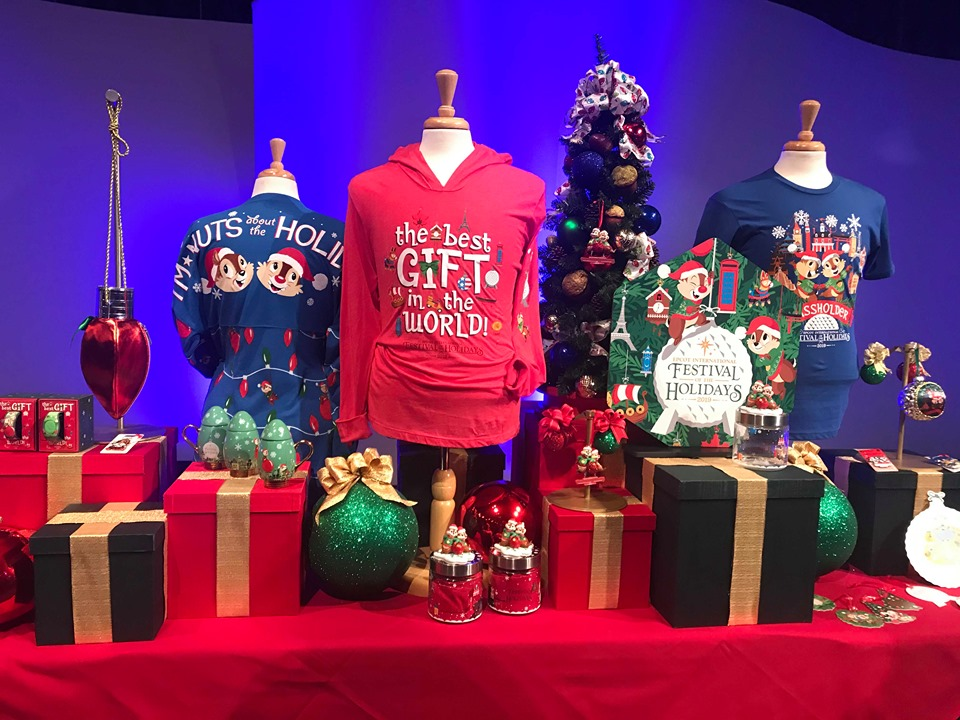 Photo Tour: Festival of the Holidays Merchandise At Epcot 1