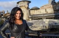 'The Mandalorian' Star Gina Carano Visits Star Wars: Galaxy's Edge at Disneyland