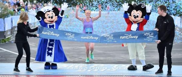 Megan Curham Completes Magical Run As Overall Winner at Disney Wine & Dine Half Marathon 1