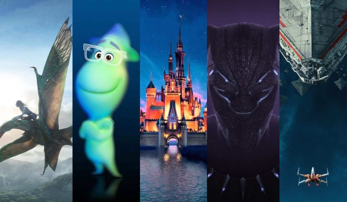 Disney Releases Movie Schedule for 2020-2023 Including Pixar, Marvel, Star Wars, and Fox