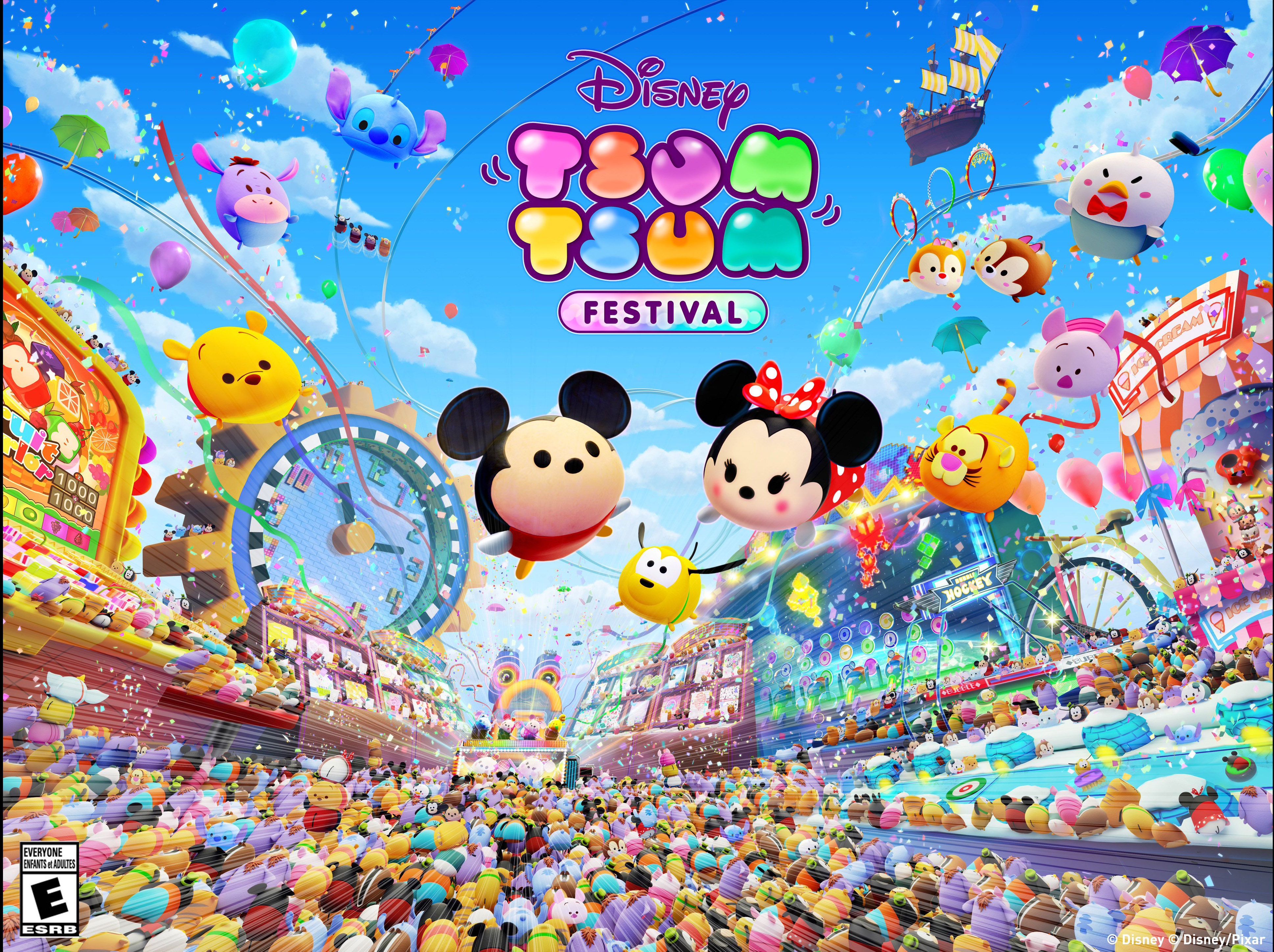Disney TSUM TSUM FESTIVAL Now On The Nintendo Switch 1