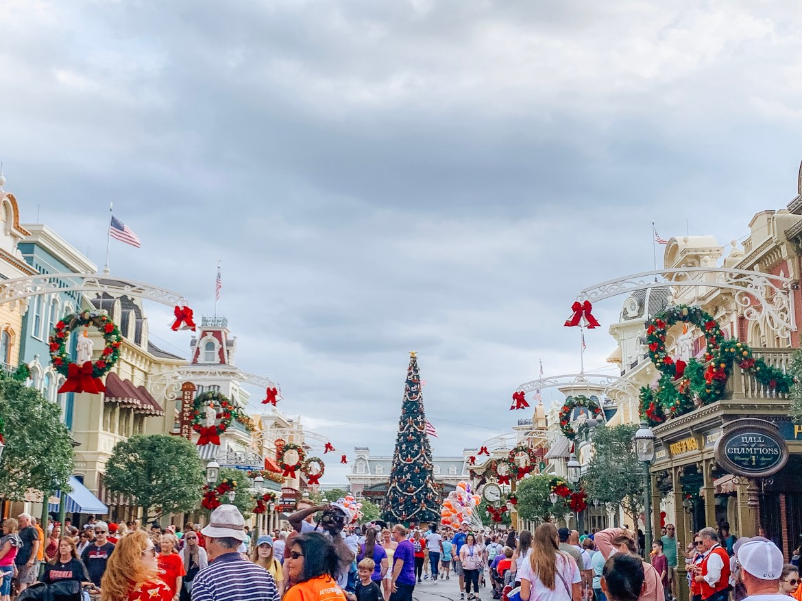 Magic Kingdom is Decked for Christmas