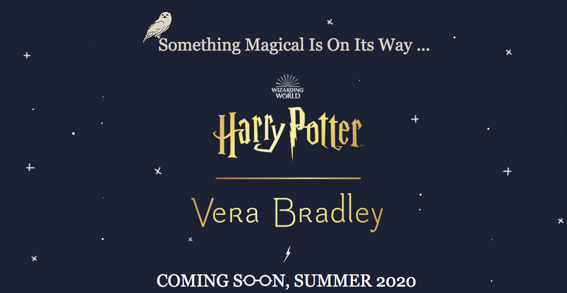 Magically Exciting New Harry Potter Vera Collaboration Coming Soon