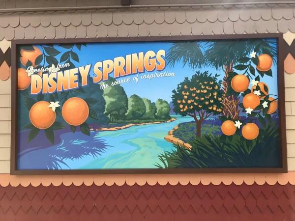 disney springs photo op