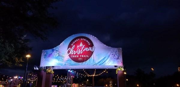 Photo Tour of Disney Springs Christmas Tree Trail 1