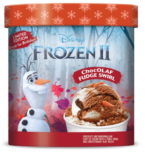 New Frozen 2 Ice Cream Spotted in Grocery Stores