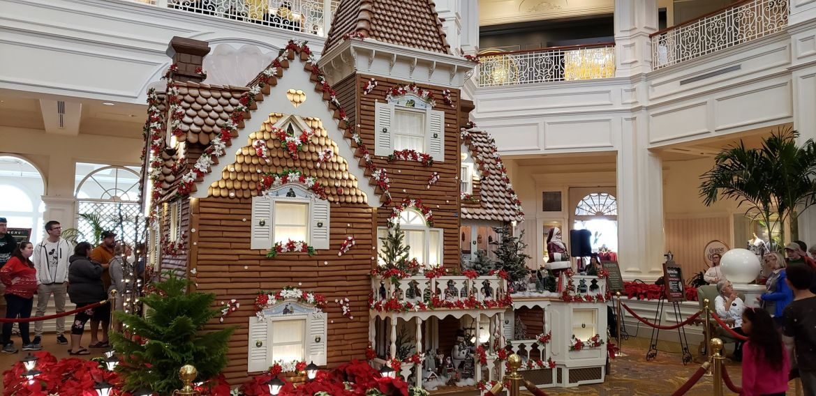 Grand Floridian Gingerbread House Is Now Open!
