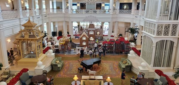 Grand Floridian Gingerbread House Is Almost Here! 3