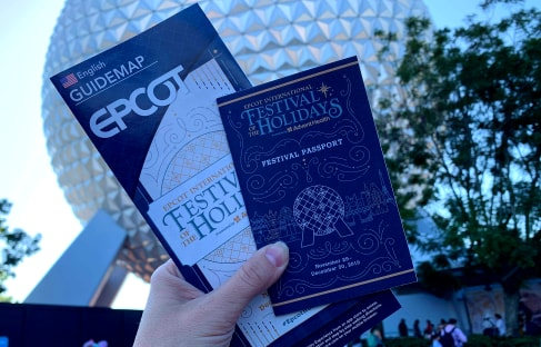 Photos: New Epcot Map for the Festival of the Holidays