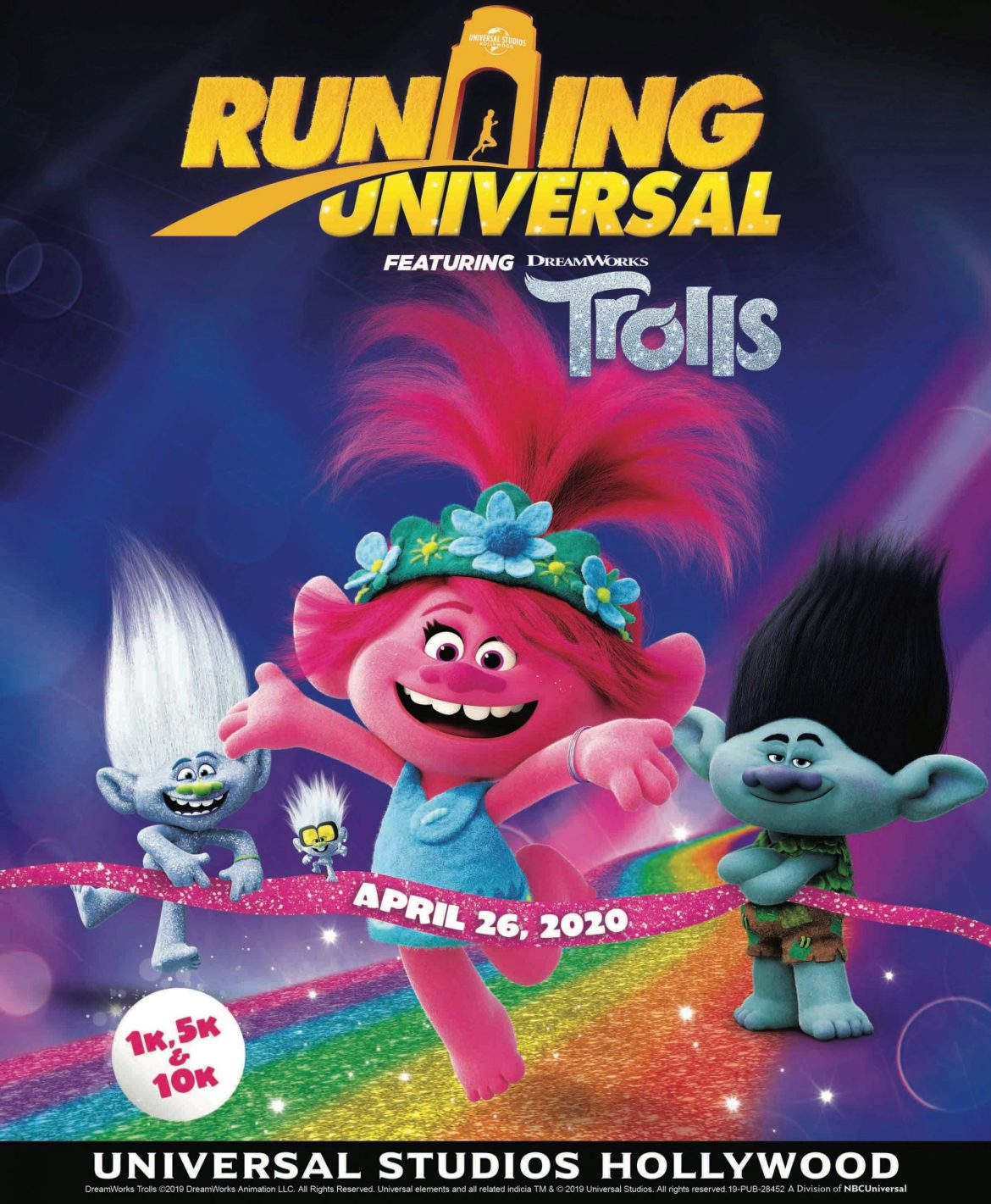 Running Universal Will Feature Dreamworks' Trolls