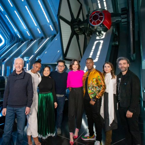 'The Rise of Skywalker' Cast Visited New 'Star Wars: Rise of the Resistance' Attraction in Disneyland 3