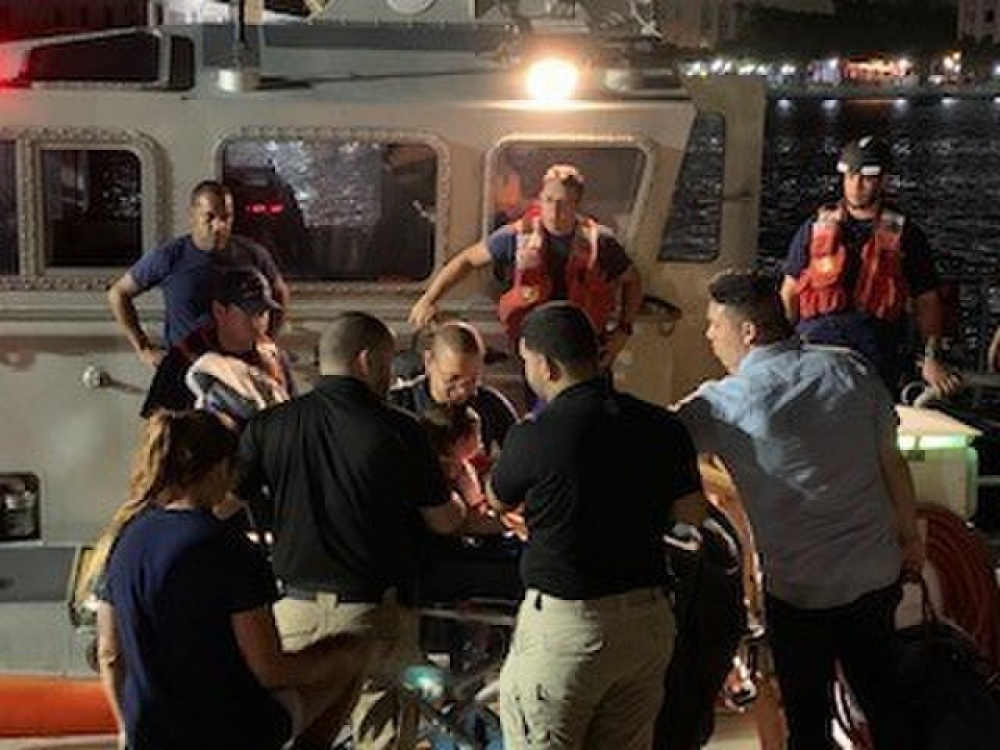 Coast Guard evacuated a 13-month-old girl from a Disney Fantasy cruise ship