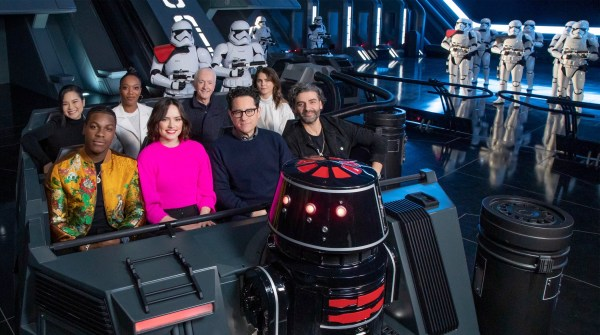 'The Rise of Skywalker' Cast Visited New 'Star Wars: Rise of the Resistance' Attraction in Disneyland 1