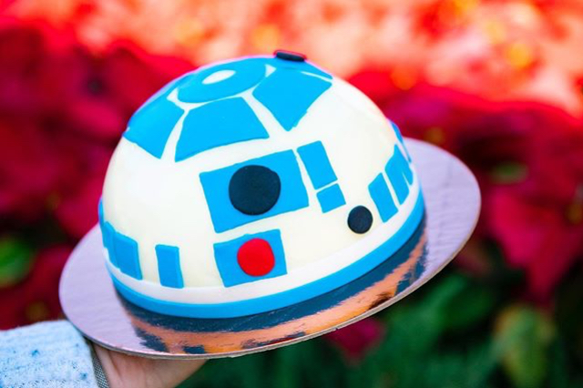 New R2-D2 Cake Available at Amorette's Patisserie in Disney Springs