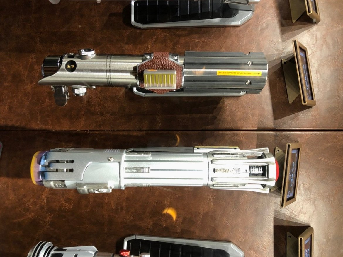 Two New Lightsabers at Star Wars: Galaxy's Edge!