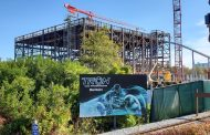 Photo Update: Tron Coaster Construction Has Made Progress