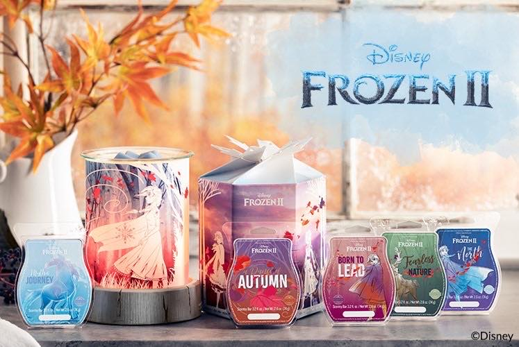 Beauty And Wonder Collide With The New Scentsy Frozen Collection