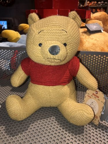 New at Disney Parks - Winnie the Pooh Classic Cozy Knits Plush! 1