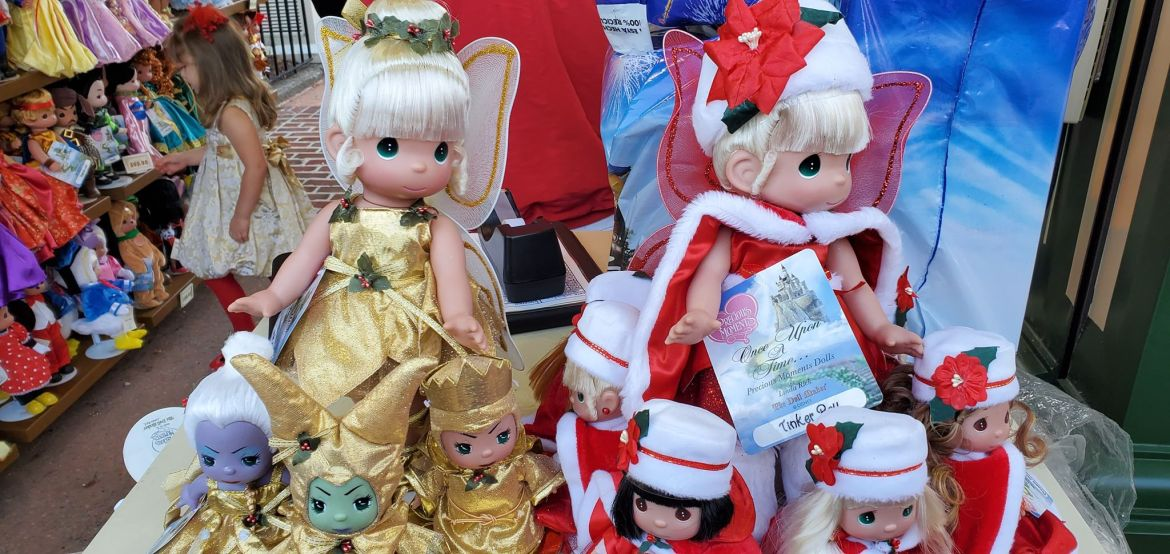 Disney Precious Moments Dolls Are Dazzling For The Holidays