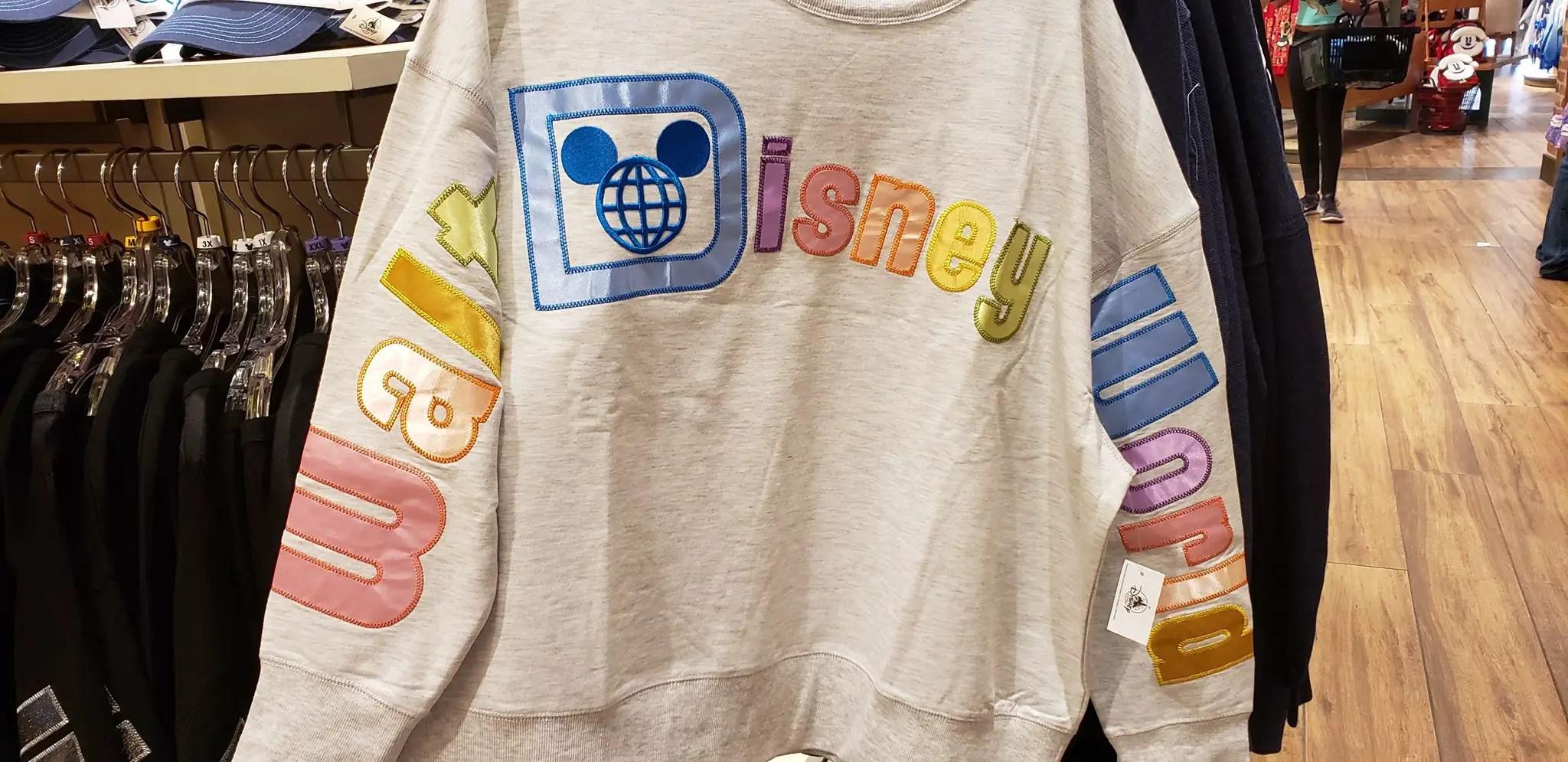 Walt Disney World Sweatshirts Have Cozy Chic Style 3