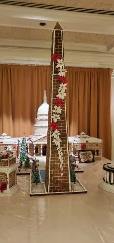 Epcot's America Pavilion Stuns with Its Gingerbread Display 5