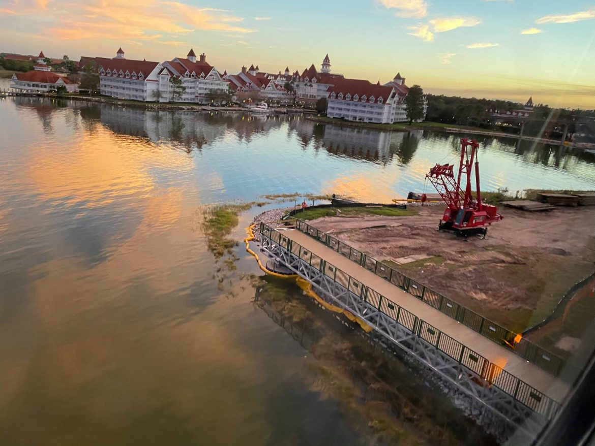 Update: Walkway from the Grand Floridian Resort to the Magic Kingdom