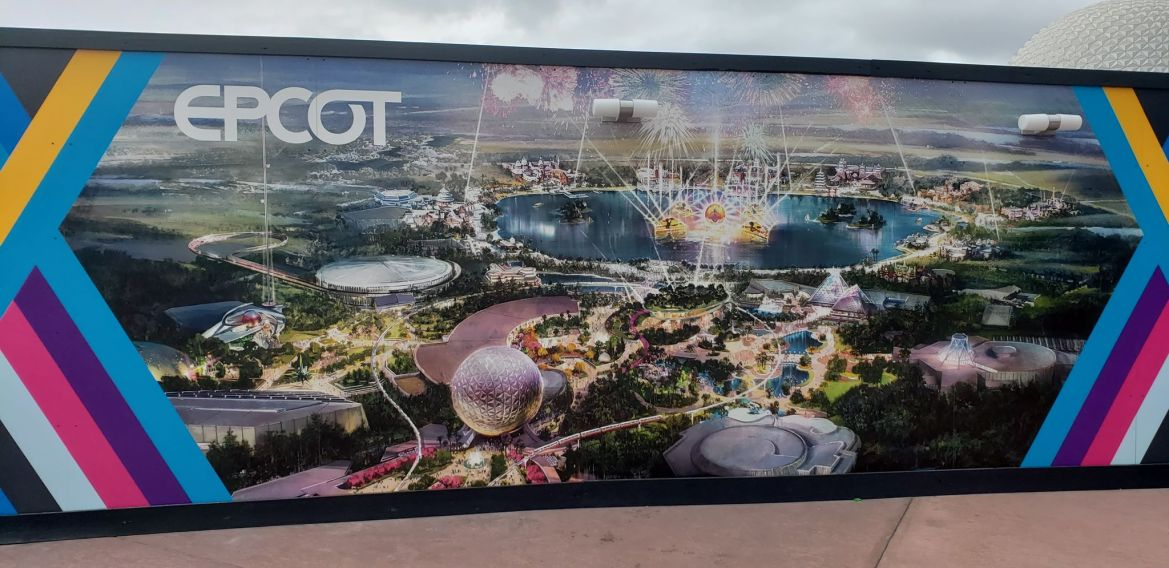 Areas of Future World in Epcot are closing this weekend