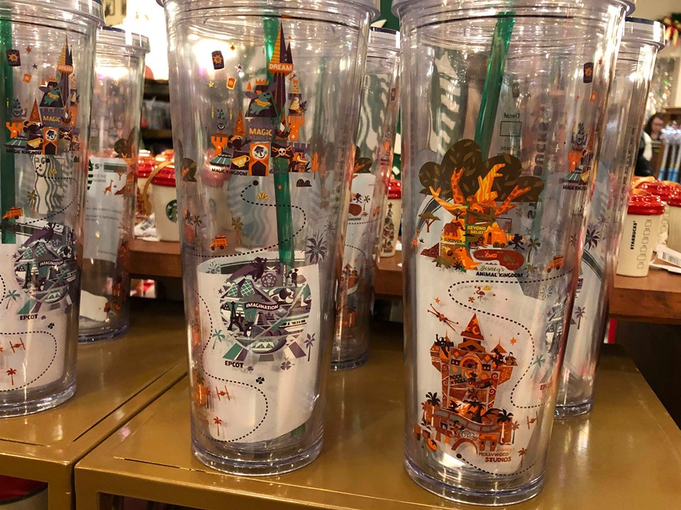 Colorful New Disney Parks Starbucks Tumbler Has Made Its Debut