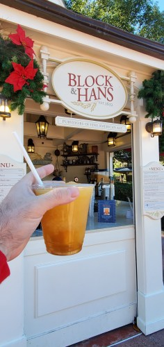 Spiked Frozen Apple Pie Cocktail - New Holiday Drink at Epcot 2