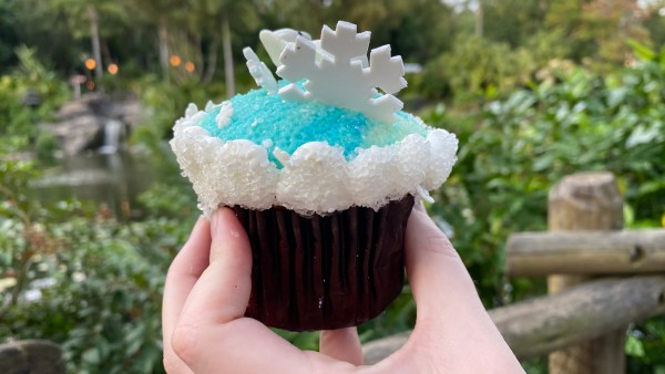 The New Menagerie Cupcake At Animal Kingdom Is Snow Cute 4