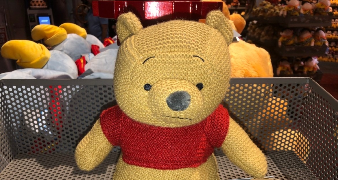 New at Disney Parks – Winnie the Pooh Classic Cozy Knits Plush!