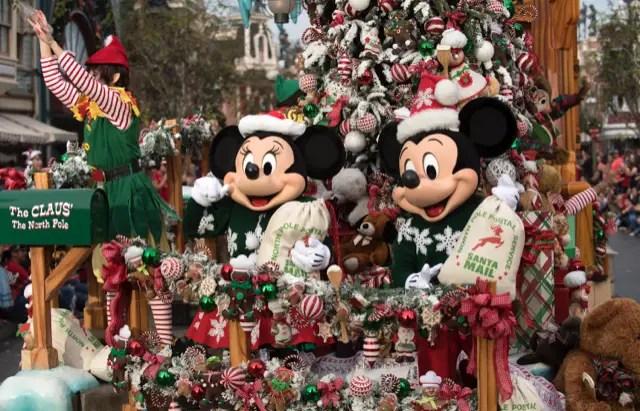 Disney Parks Magical Christmas Day Parade Airs Christmas Morning
