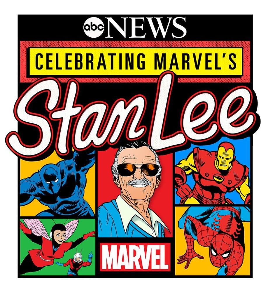 """Celebrating Marvel's Stan Lee"" TV special coming soon to ABC"