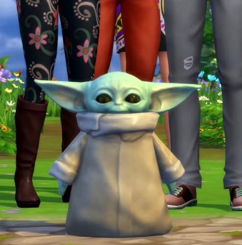 """'Ooh be gah!' """"Baby Yoda"""" is now available in The Sims 4 2"""