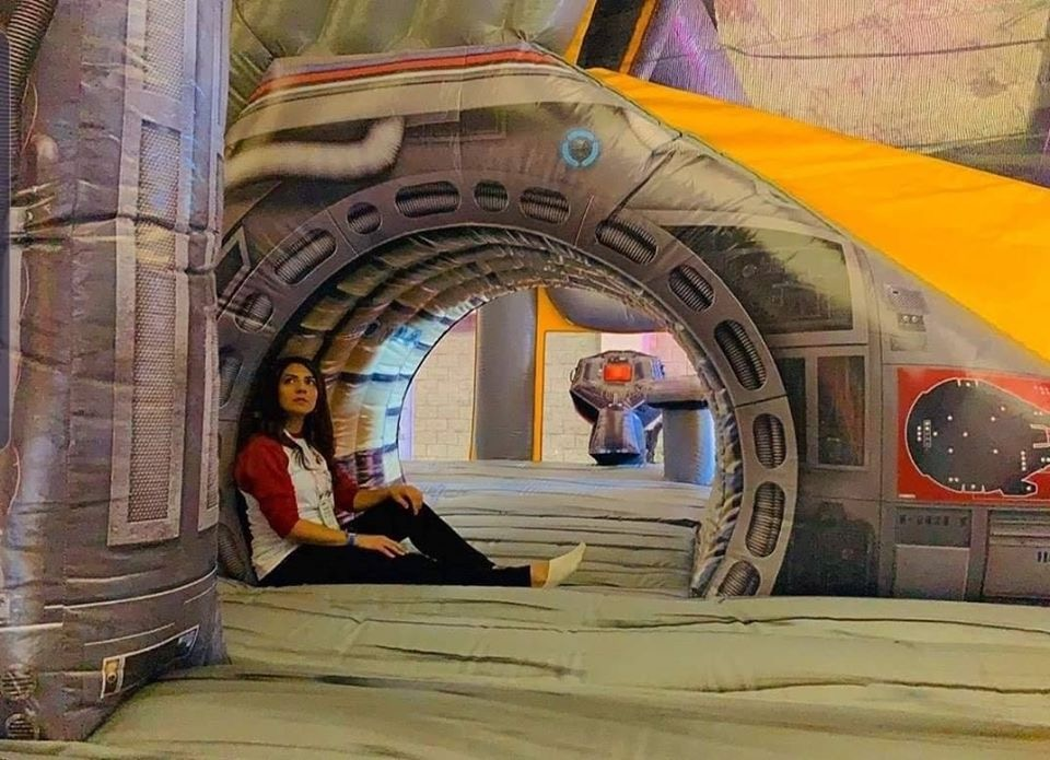 You Can Purchase an Inflatable Millennium Falcon for $10,000