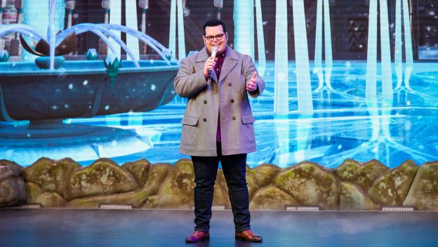 Josh Gad Surprises Guests At Disney's Hollywood Studios