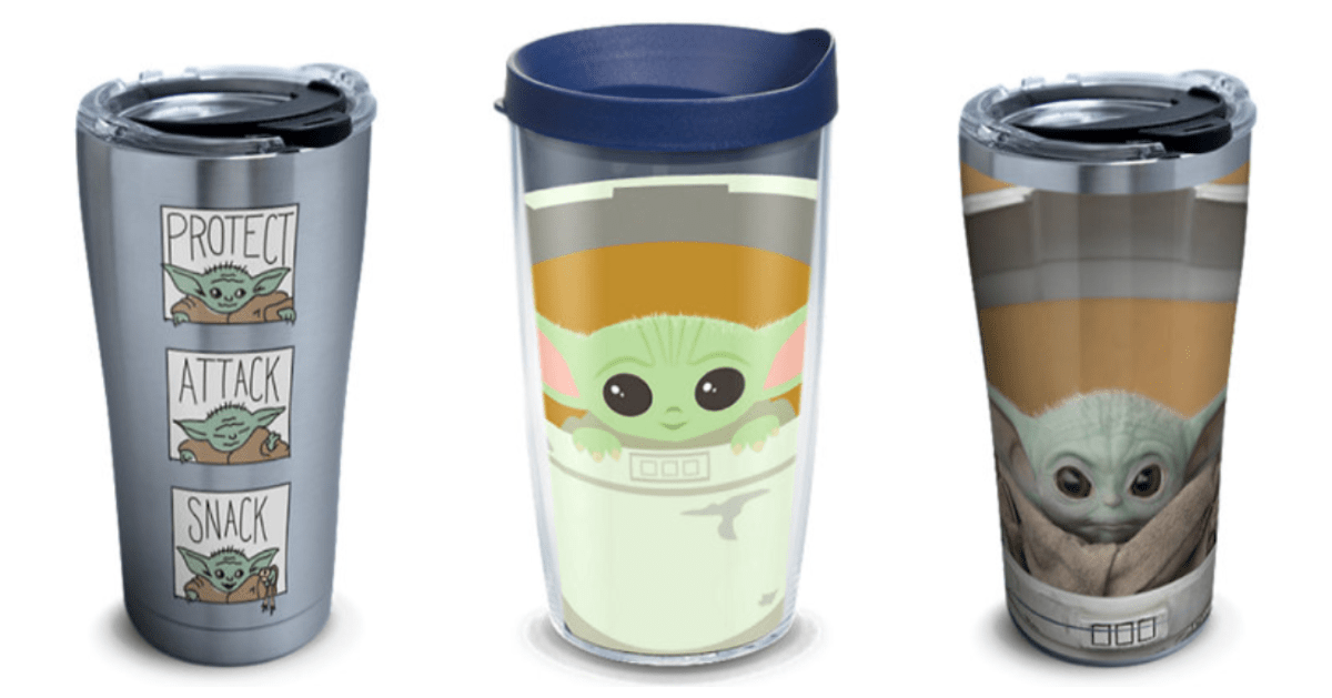 New Baby Yoda Tervis Tumblers Are Now Available, We Need Them All! 1