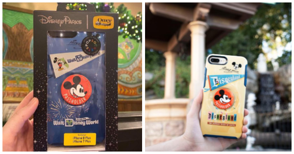 Disney Annual Passholder Otterbox Cases With PopSockets