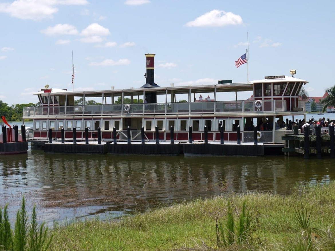 Guest jumped overboard on Ferry Boat at the Seven Seas Lagoon