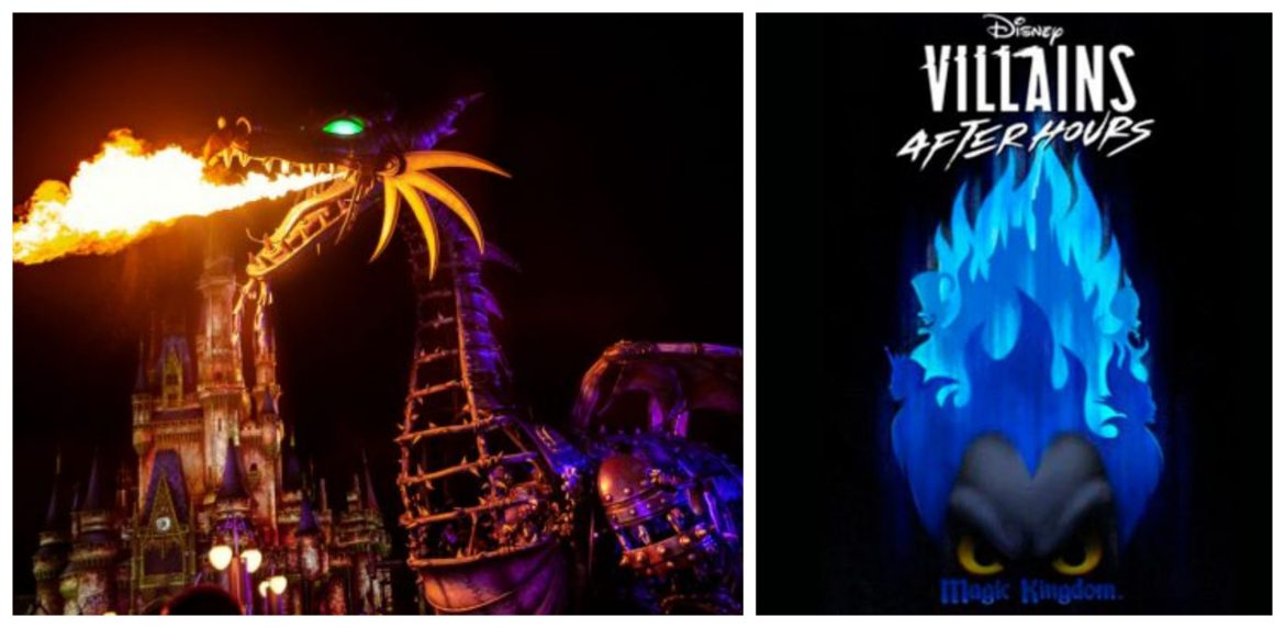 More Villainous Fun coming to Villains After Hours Party at the Magic Kingdom