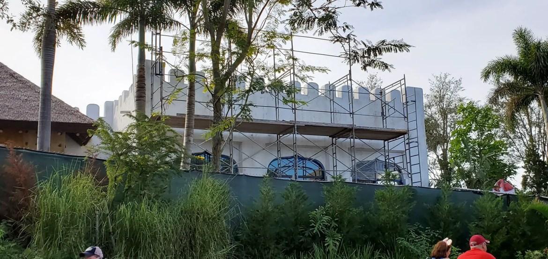 Photos: Animal Kingdom Club 33 Construction Update