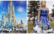 Young Fan Uses Imagination to Create Disney Parks Bag Dress